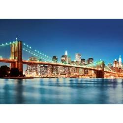 Fototapeta Wall Murals Brooklyn Bridge New York 00961 Wizard & Genius