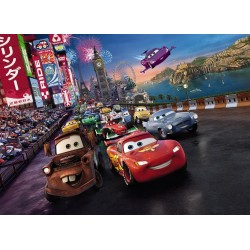 Fototapeta Disney Auta Cars Race 4-401 Komar